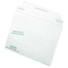 <strong>Quality Park Products</strong> Antistatic Fiberboard Disk Mailer, 25/Box