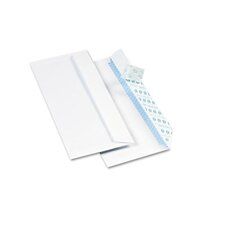 Redi-Strip Security Tinted Envelope, Contemporary, #10, White, 500/box