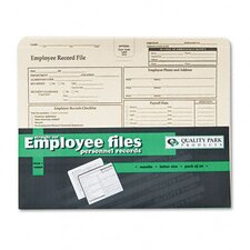 <strong>Quality Park Products</strong> Employee Record Folder, 20/Pack