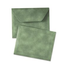 "Document Carrier, Letter, 2"" Expansion, Green, 1/ea"