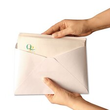 Expandable Security Envelope, Traditional, One-inch, #10, White, 500/box