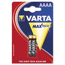 Varta AAAA Alkaline High Energy Battery, 2/Pack