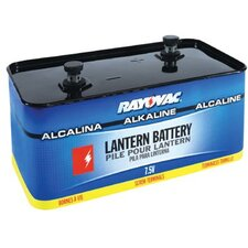 Rayovac - Lantern Batteries 7.5-Volt Screw Term Alkaline Emerg. Lantern Bat: 620-803 - 7.5-volt screw term alkaline emerg. lantern bat