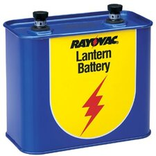 Rayovac - Lantern Batteries 18689 6 Volt Screw Terminal General Pur: 620-918 - 18689 6 volt screw terminal general pur