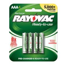 Low Discharge Hybrid™ NIMH Batteries (Min Qty 4 Individual Batteries) (Set of 4)