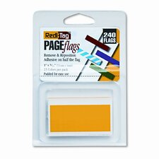 Removable/Reusable Page Flags, 13 Assorted Colors, 300 Flags per Pack