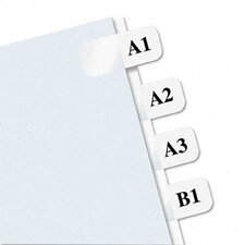 Laser Printable Index Tab, 180/Pack