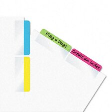 <strong>Redi-Tag Corporation</strong> Write-On Self-Stick Index Tab /Flag, 48/Pack