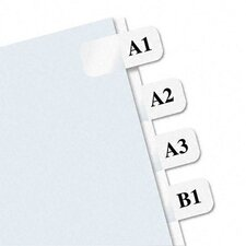 Laser Printable Index Tab, 675/Pack