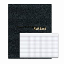 Roll Call Book, 9-1/2 x 7-7/8, Bound, White, 48 Pages