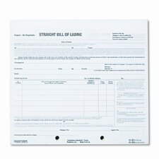 Bill of Lading Short Form (250 Pack)