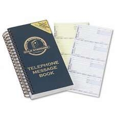 Wirebound Message Book, 600 Sets/Book
