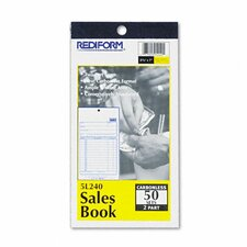 Sales Book, 3-5/8 X 6 3/8, 50 Sets/Book