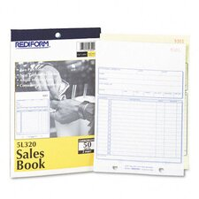 Sales Book, 5 1/2 X 7 7/8, 50 Sets/Book