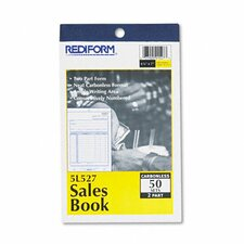 Sales Book, 4 1/4 X 6 3/8, 50 Sets/Book