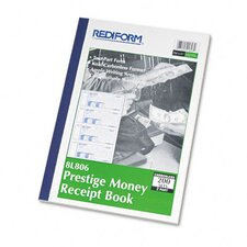 Money Receipt Book, 7 X 2 3/4, 200 Sets/Book