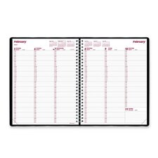 Brownline Essential 2014 Columnar Weekly Appointment Book
