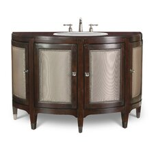 "Designer Series 48"" Kennedy Hall Chest Vanity Set"