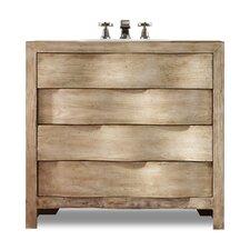 """Designer Series 36"""" Aidan Curved Bathroom Vanity Base"""
