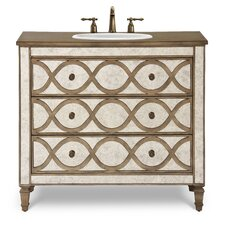 "Designer Series 40"" Brooks Vanity Set"