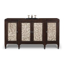 "Designer Series 66"" Collier Sink Chest Vanity Set"