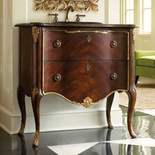 "Designer Series 36"" Carolee Hall Chest Vanity Set"