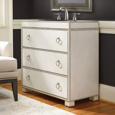 "Designer Series 36.5"" Mackenzie Hall Chest Vanity Set"