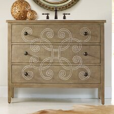 "Designer Series 44"" Emma Hall Chest Vanity Set"