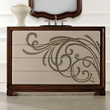 "Designer Series 48"" Delaney Vanity Chest Vanity Set"