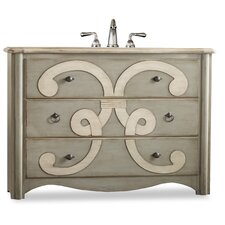 "<strong>Cole & Company</strong> Chamberlain 48"" Sink Chest Vanity Set"