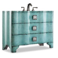 "Designer Chambers 44"" Sink Chest Vanity Set"