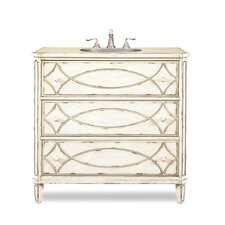"Ella 37"" Sink Chest Vanity Set"