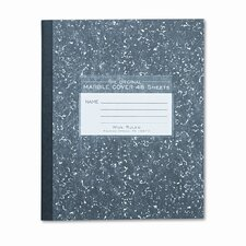 Marble Cover Composition Book, 8-1/2 X 7, 48 Pages