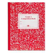Grade School Ruled Composition Book, 9-3/4 X 7-3/4, 50 Pages