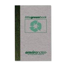 Little Green Memo Book (60 Sheet)