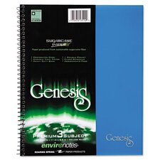 Genesis 3-Subject Notebook