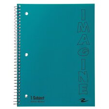 90 Sheet Imagine One Subject Notebook
