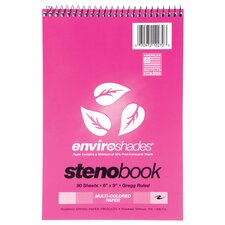 80 Sheet Enviroshade Steno Book
