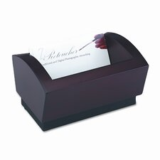 Executive Woodline II Business Card Holder