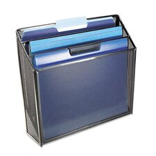 <strong>Rolodex Corporation</strong> Mesh Three-Tier Organizer, 12 3/4w x 3 1/2d x 11 1/2h, Black