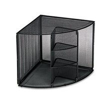 Mesh Corner Desktop Shelf