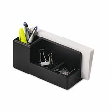 Wood Tones Desk Organizer