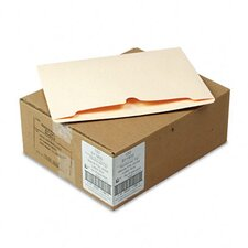 Reinforced Top File Jackets, Letter, 100/Carton