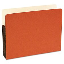 Durable File Pocket, 3 1/2 Inch Expansion, 25/Box