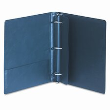 "Top Performance Dxl Locking Binder with Label Holder, 1"" Capacity"