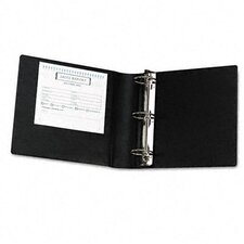 Heavy-Duty Locking Round Ring Binder, 8-1/2 x 11, 3in Capacity