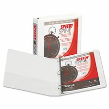 Speedy Spine Round Ring Binder