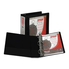 Speedy Spine View D-Ring Binder