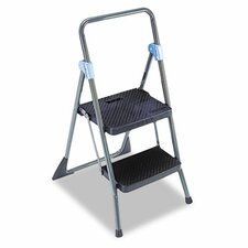 Commercial 2-Step Folding Step Stool