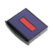 Pad, Replacement For 2200/2300 Dater, Red and Blue